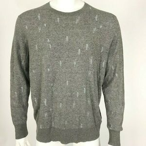 Allsaints Hole Design Sweater Long Sleeve